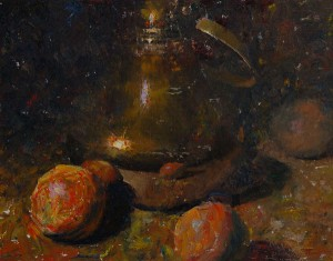 Brass With Oranges 16x20 ©CWMundy